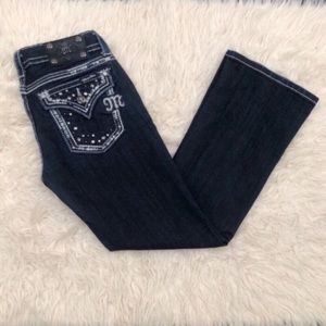 Miss Me Embellished Easy Boot Jeans
